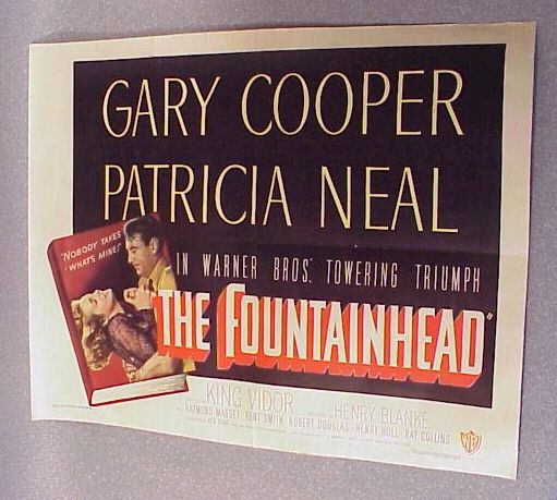 The Fountainhead Movie Poster - The Fountainhead Images ...